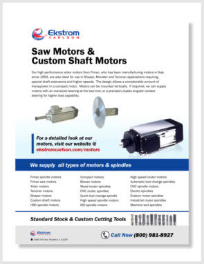 saw motors custom shaft motors update