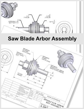 saw-blade-arbor-assembly