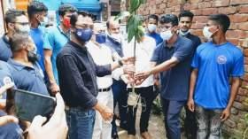 ফরিদপুরের নগরকান্দায় অনার্স ক্লাবের উদ্যোগে ১০ হাজার তালগাছ রোপণ