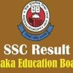 SSC Result 2017 Dhaka Education Board