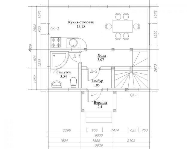 malenkiy-dvuhetajniy-dom-etud-60-plan1