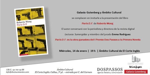 Invitación ParisDF ACCallao
