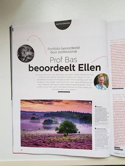 Foto van de pagina in de Zoom.nl
