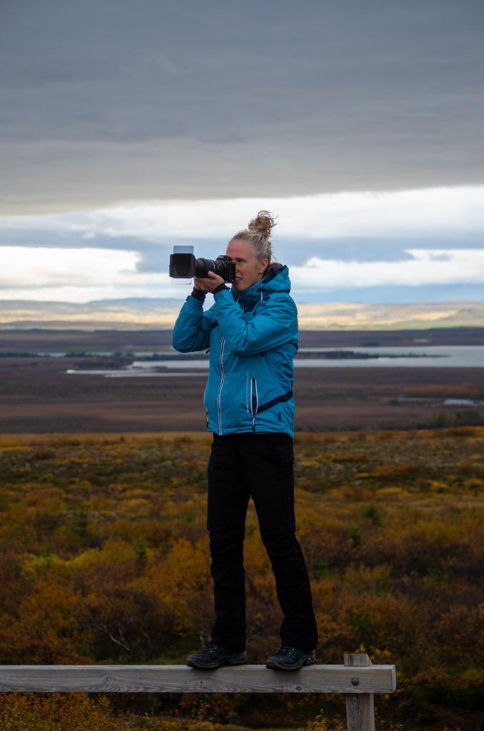 Fotograferen langs de route