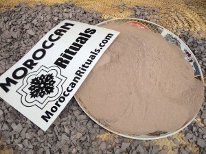 Moroccan Rhassoul Clay The Real & Organic, 100% Pure & Genuine Rhassoul Or Ghassoul Clay Powder