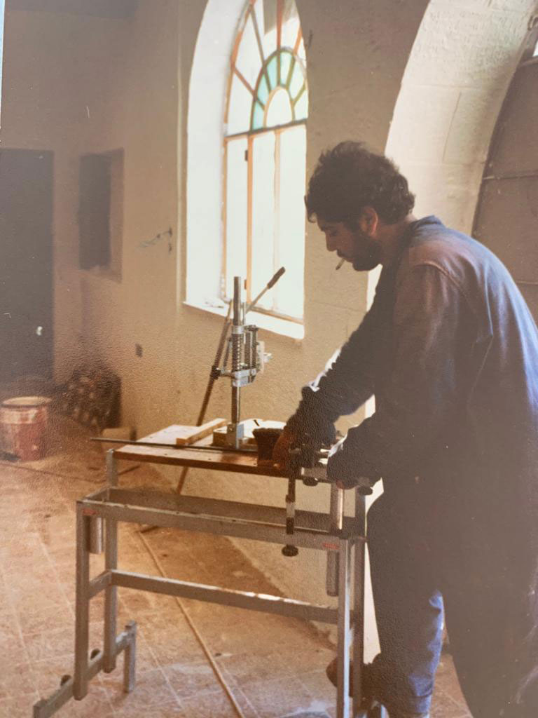 Amer Khalil, at the age of 19, joined the Hakawati troupe for theater restoration