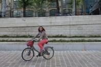 Elif et son vélib