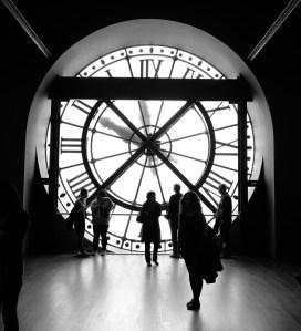 Elif dans le Musée d'Orsay