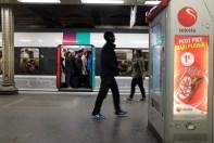 RER en Denfert-Rochereau