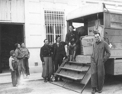 Ciudadanos durante la Guerra Civil