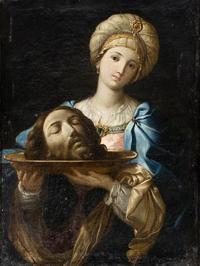 """Salomé con la cabeza de San Juan Bautista"", cuadro Anónimo, 1630-1699 (Siglo XVII)"