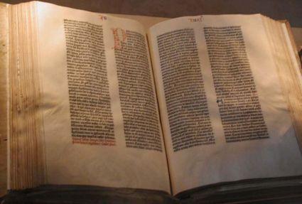 biblia de gutenberg