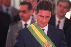 Posse do presidente Fernando Collor, em 1990