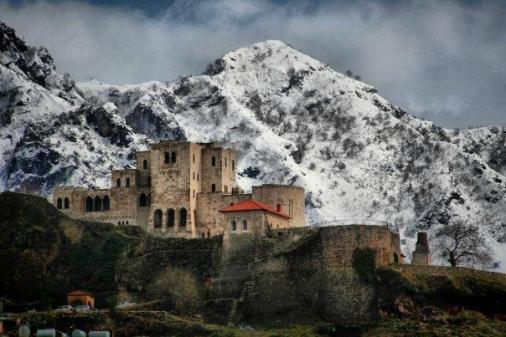 Το Κάστρο στην Κρούγια, Αλβανία