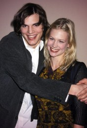 Ashton Kutcher and January Jones