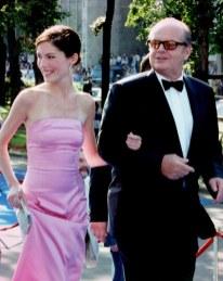 Lara Flynn Boyle and Jack Nicholson