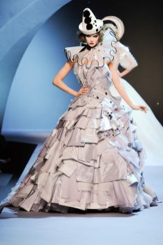 Christian Dior Fall 2011 couture
