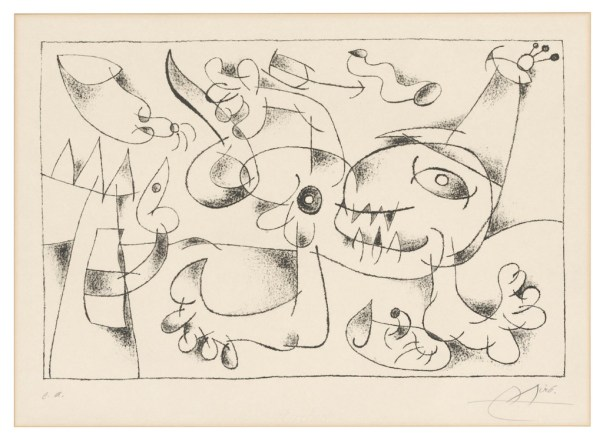Lot-149-Joan-Miro-Plate-5-from-Suites-for-Ubu-Roi-1024x750