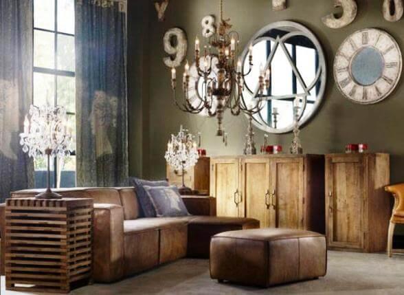Vintage-Style-Living-Room-Ideas