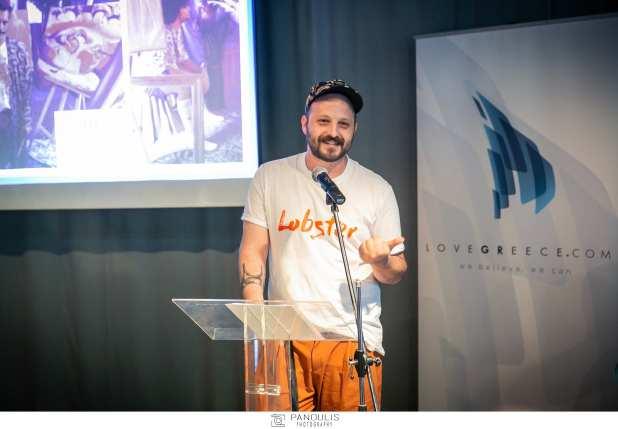 Ο σχεδιαστής Αντώνης Παπασταύρου του brand Dante