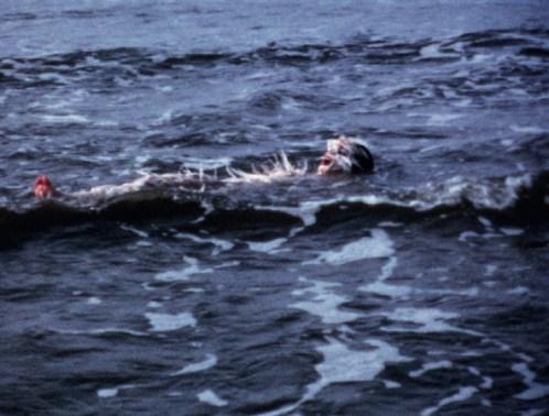 ANA MENDIETA - OCEAN BIRD WASHUP, 1974, Μεταφορά φιλμ super-8mm σε ψηφιακό μέσο υψηλής ευκρίνειας, έγχρωμο, χωρίς ήχο, 4:09 λεπτά, Παραχώρηση The Estate of Ana Mendieta Collection, LLC και Galerie Lelong & Co., Νέα Υόρκη