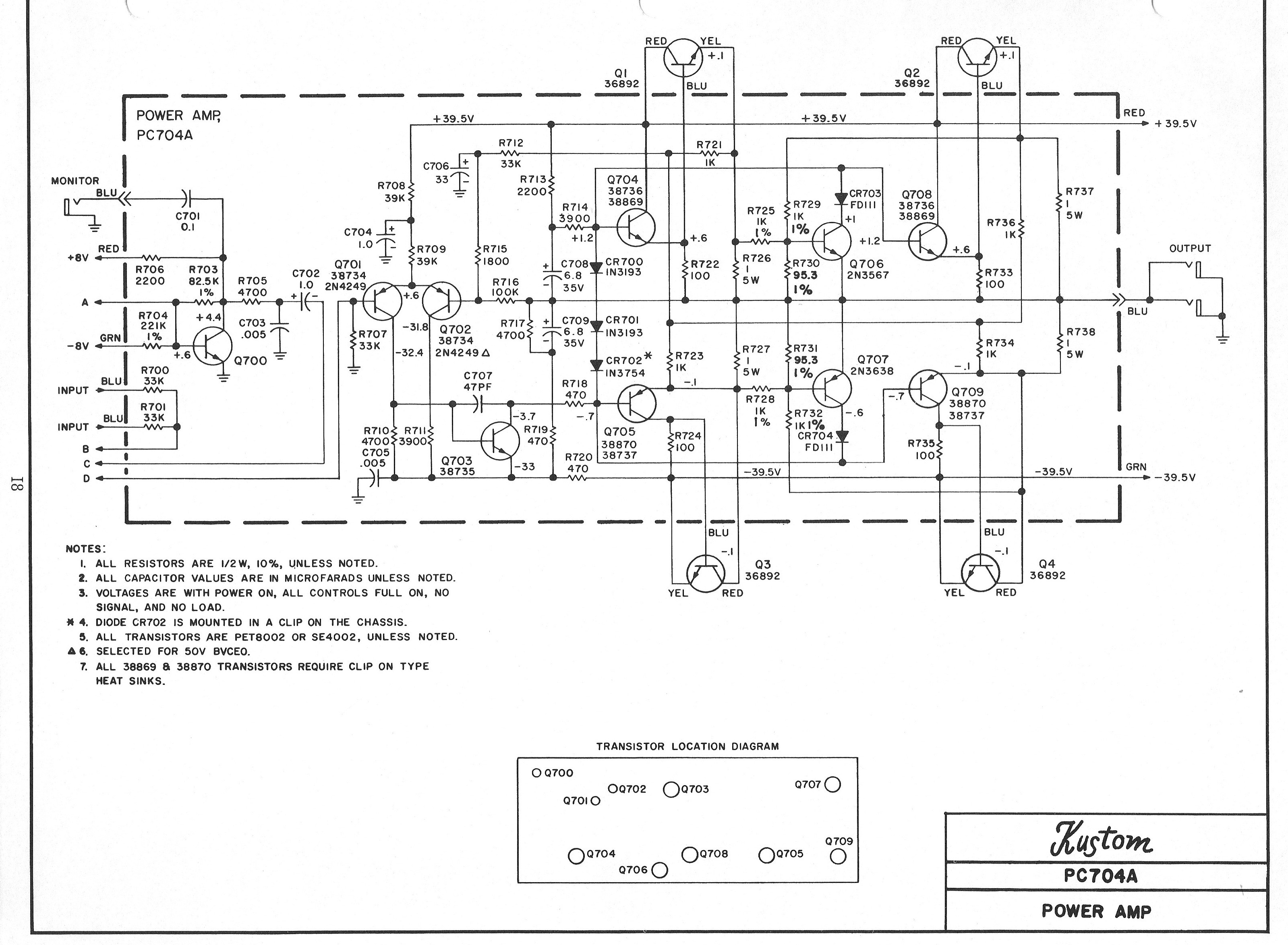 Plush Amps Schematics