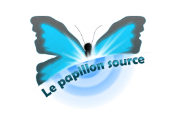 logo le papillon source