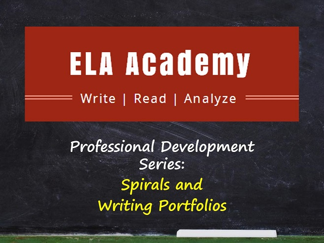 Spirals and Portfolios – Professional Development Series