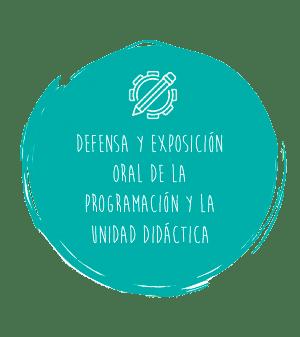 El examen oral: defensa de la PD y exposición de la UD