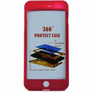 POWERTECH Θήκη Body 360° με Tempered Glass για iPhone X, Pink | Αξεσουάρ κινητών | elabstore.gr