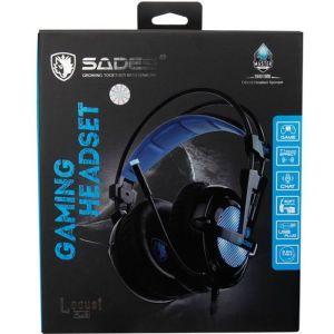 SADES Gaming Headset Locust Plus, USB, 7.1CH με 40mm ακουστικά | Συνοδευτικά PC | elabstore.gr