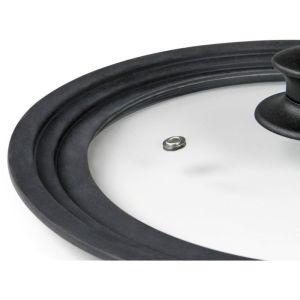FLONAL Γυάλινο καπάκι με στεφάνι σιλικόνης για σκεύη 28/30/32cm   Οικιακές & Προσωπικές Συσκευές   elabstore.gr