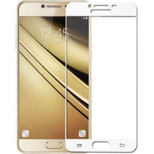 POWERTECH Tempered Glass 3D Full Face για Samsung J2 Pro 2018, λευκό | Αξεσουάρ κινητών | elabstore.gr