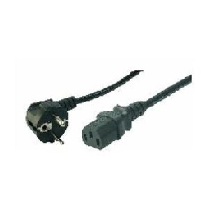 Cable Power Cord Schuko-C13 1.8m Bulk Logilink CP090 | POWER CABLES | elabstore.gr