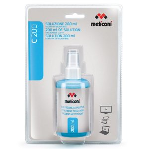 MELICONI C-200 200ml SOLUTION + MICROFIBER CLOTH | ΕΙΚΟΝΑ / ΗΧΟΣ | elabstore.gr