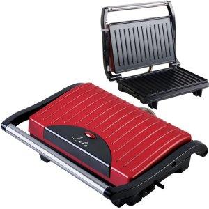 LIFE Scarlet Sandwich toaster with grill plates,700W   ΜΙΚΡΟΣΥΣΚΕΥΕΣ / ΕΠΟΧΙΑΚΑ / ΛΕΥΚΕΣ ΣΥΣΚΕΥΕΣ   elabstore.gr
