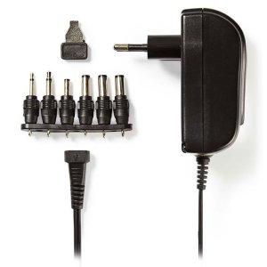 NEDIS ACPA002 Universal AC Power Adapter, 3/4.5/5/6/7.5/9/12 VDC, 1.5 A | ΜΠΑΤΑΡΙΕΣ / ENERGY | elabstore.gr