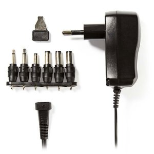NEDIS ACPA006 Universal AC Power Adapter, 3/4.5/5/6/7.5/9/12 VDC, 0.6 A   ΜΠΑΤΑΡΙΕΣ / ENERGY   elabstore.gr