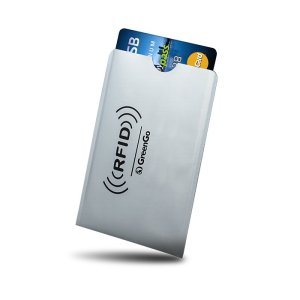 GREENGO Θήκη Paypass προστασίας ασύρματης ανάγνωσης πιστωτικών καρτών   Gadgets   elabstore.gr