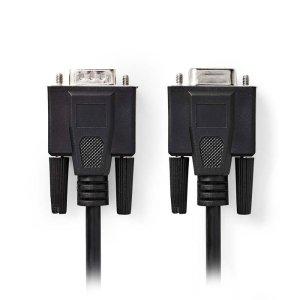 NEDIS CCGP59100BK100 VGA Cable VGA Male-VGA Female 10 m Black | ΚΑΛΩΔΙΑ / ADAPTORS | elabstore.gr