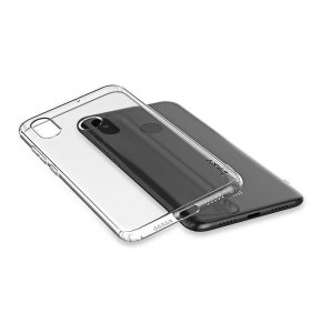 IPAKY Θήκη Effort TPU & tempered glass για Xiaomi Mi A1, διάφανη   Αξεσουάρ κινητών   elabstore.gr