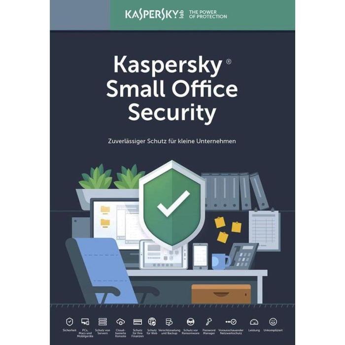 KASPERSKY Small Office Security 2019, 5 συσκευές & 1 server, 1 έτος, EU   Software   elabstore.gr