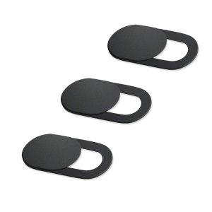 Κάλυμμα κάμερας SPPIP-001, universal, 3τμχ, μαύρο   Gadgets   elabstore.gr