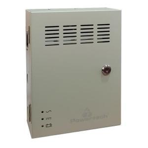 POWERTECH τροφοδοτικό CP1209-20A-B για CCTV-Alarm, DC12V 20A, 9 κανάλια | Κλειστό Κύκλωμα CCTV | elabstore.gr