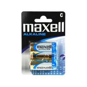 MAXELL SUPER Αλκαλική μπαταρία LR14, 1.5V, 2τμχ | Μπαταρίες | elabstore.gr