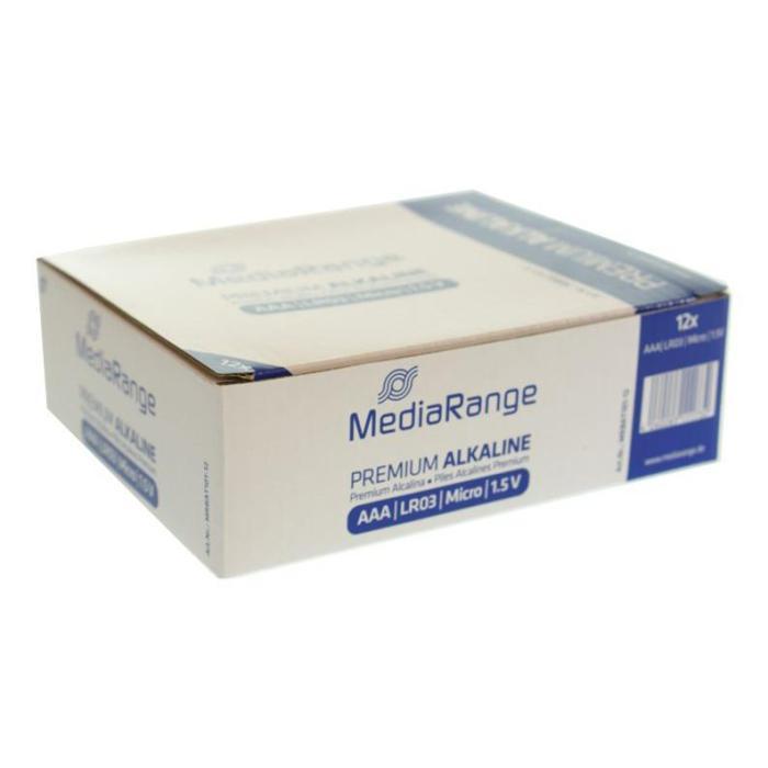 MEDIARANGE Pr.Αλκαλικές AAA (LR03)  Συσ.4 τεμ.   Μπαταρίες - Φακοί   elabstore.gr