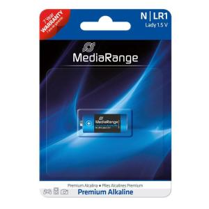 MEDIARANGE Premium Αλκαλική μπαταρία Lady N LR1, 1.5V, 1τμχ | Μπαταρίες | elabstore.gr