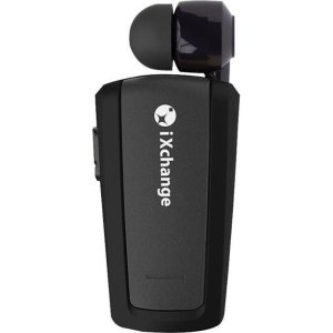 Retractable BT Mini Headset UA25 Black iXchange | MOBILE COMPONENTS | elabstore.gr