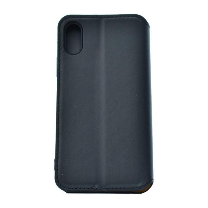 POWERTECH Θήκη Slim Leather για iPhone X/XS, μαύρη | Αξεσουάρ κινητών | elabstore.gr