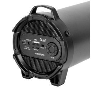 QUER φορητό ηχείο KOM0943 10W bluetooth, FM radio, USB, MicroSD, 1800mAh | Συνοδευτικά PC | elabstore.gr
